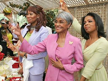 Yolanda Adams, Nancy Wilson and Oprah