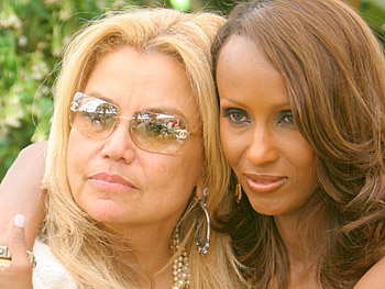 Suzanne de Passe and Iman. Copyright 2005, Harpo Productions, Inc./George Burns & Bob Davis. All rights reserved.