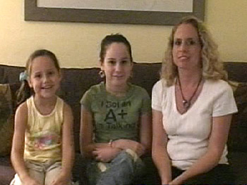 Tanya Adams and her daughters, Britney and Christy