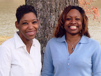 Chiquita Brown and Candis Saulsberry