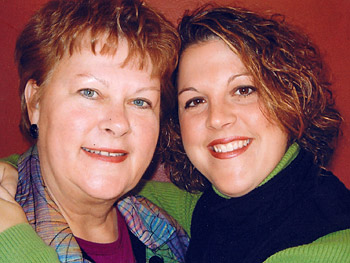 Mother and daughter Karen Bures and Cara Christy