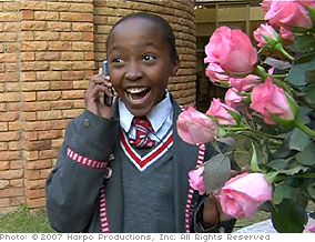 Thando is accepted to the academy.