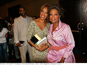 Oprah and her best friend, Gayle King