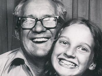 Barb and her father Robert circa 1968