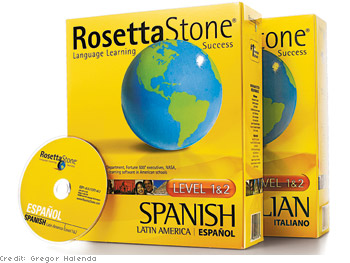 Rosetta Stone language classes