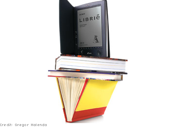 Sony Librié portable e-book reader