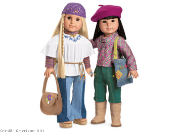 Julie and Ivy, American Girl Dolls