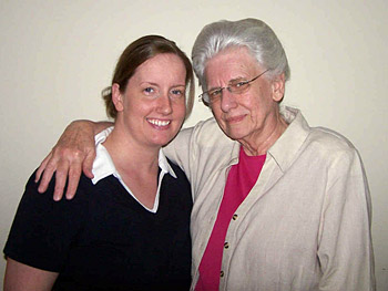 Leah and her grandmother, Mayjel