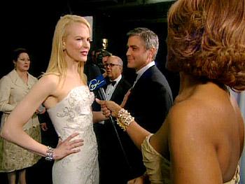 Nicole Kidman in a Balenciaga gown