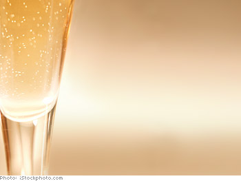 Have champagne for your guests