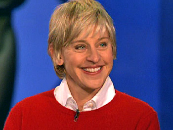 Ellen DeGeneres discusses her big night.