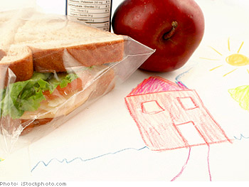 Prepack your kids' lunches.