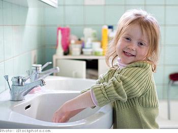 Coordinate bathroom schedules.