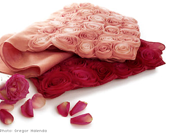 WeaveTree roses shawl