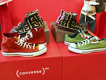 Converse (PRODUCT) RED sneakers