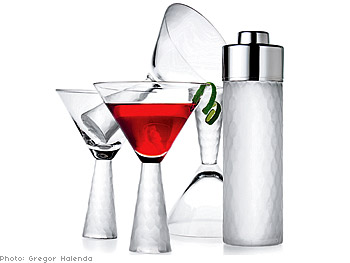 Colin Cowie cocktail set