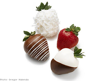 Shari's Berries dipped strawberries