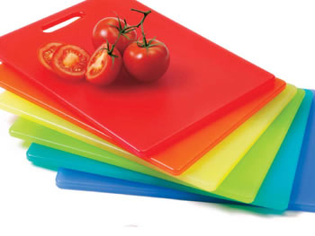 O at Home List: Colorful Cutting Boards