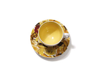 O at Home List: Laurie Simmons's cup and saucer