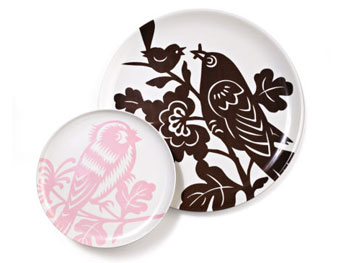 O at Home List: Birdsong plates