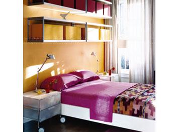 Ken Foreman's minimalist bedroom