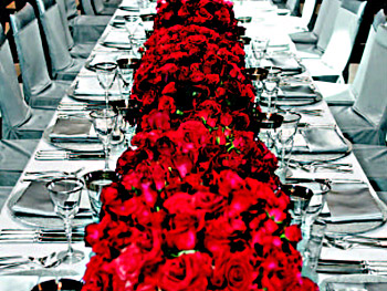 Roses at Legends Ball