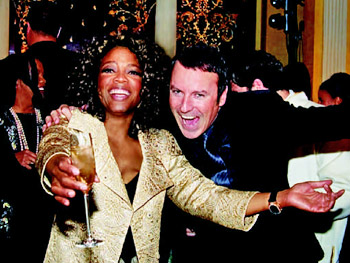 Oprah and Colin Cowie