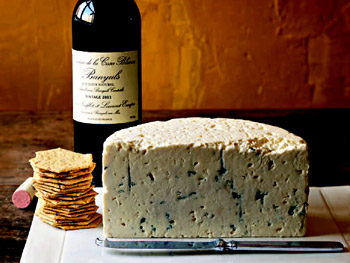 Point Reyes cheese and Banyuls