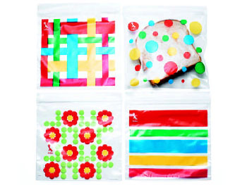 Decor O at Home List: colorful sandwich bags