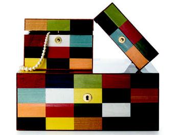 Decor O at Home List: Mahogany jewelry boxes