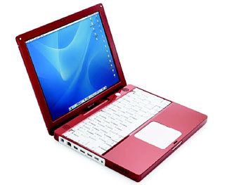 Candy Apple iBook G4