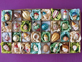 Amanda Lovell's ornament collection