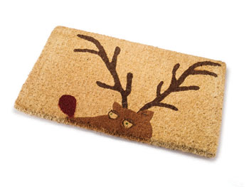 Decor O at Home List: Deer Doormat