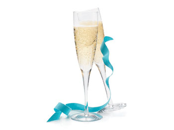 Decor O at Home List: Champagne Flutes