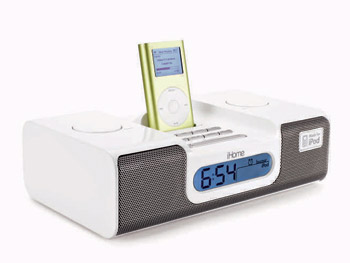 Gadgets 'O at Home' List: iPod alarm clock