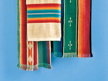 Ralph Lauren's Indian-inspired towels