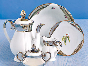 Vintage porcelain tea sets