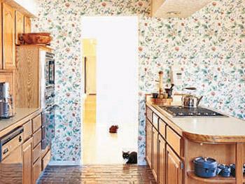 Art Smith's kitchen before