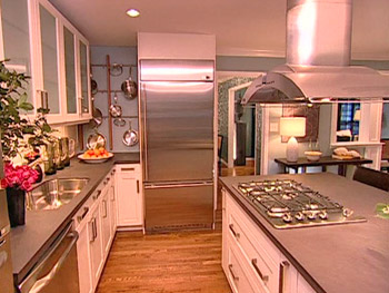 Colette's kitchen after Nate's makeover