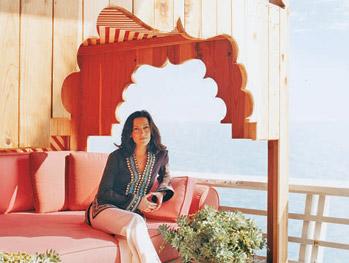 Interior designer Antonia Hutt