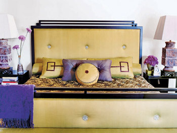 Claudine Claus Wheeler's master bedroom