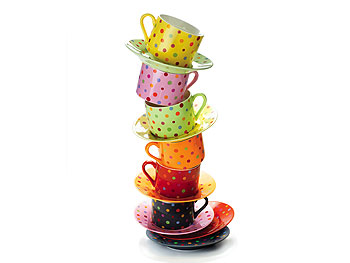 Decor O at Home List: Polka Dot Cups