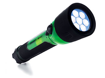 Gadgets 'O at Home' List: Hybrid Shake 7-LED flashlight
