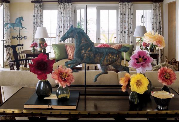 19th-century weather vane in Oprah's living room