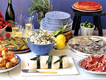 Abbondanza! Italian-Inspired Buffet Table - Oprah.