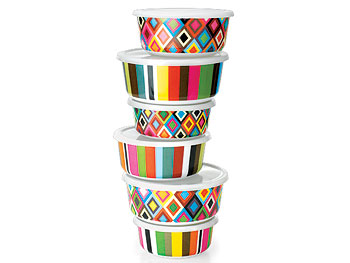 """Décor """"O at Home"""" List: Melamine Containers"""