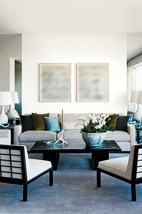 Julie Chaiken's living room