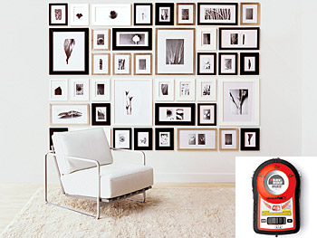 The Perfect Picturewall Series 1000, with Black & Decker Bullseye