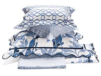 Lulu DK Matouk bed linens