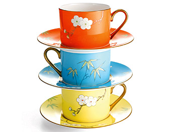 Plum Blossom teacups